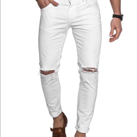 Just Cavalli Other - 🔥Just CAVALLI white Men's Jeans Sz 34